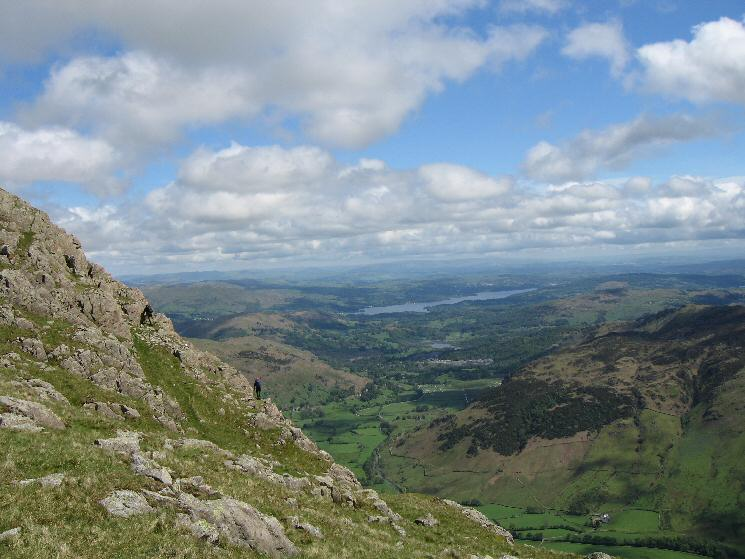 Windermere from our ascent of Harrison Stickle