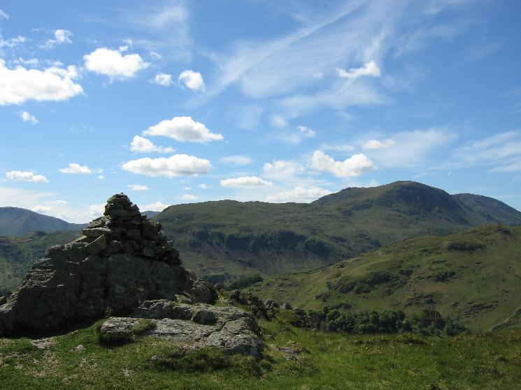 Birks and Saint Sunday Crag from Glenridding Dodd's summit