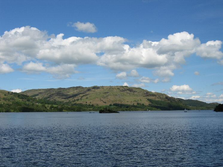 Gowbarrow Fell from Ullswater