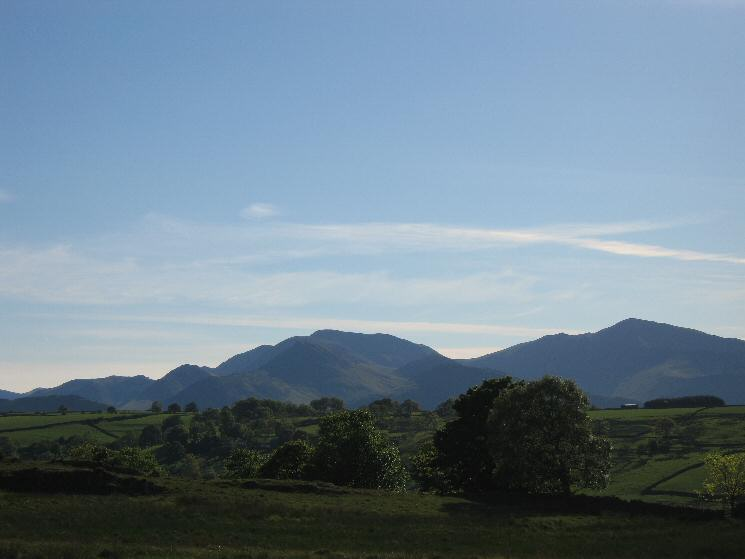 The north western fells from near Tewet Tarn