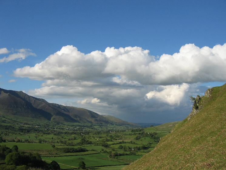 Looking towards 'the weather' in the Eden valley