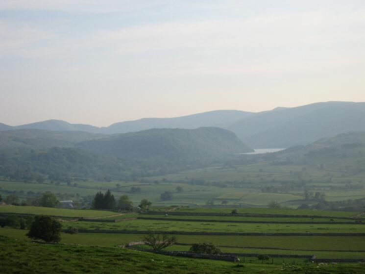 Naddle Forest and a glimpse of Haweswater