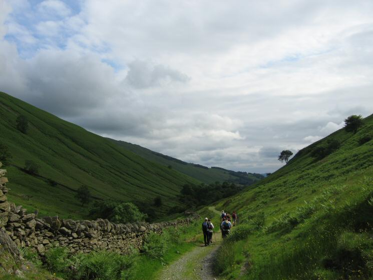 The track beside Hagg Gill