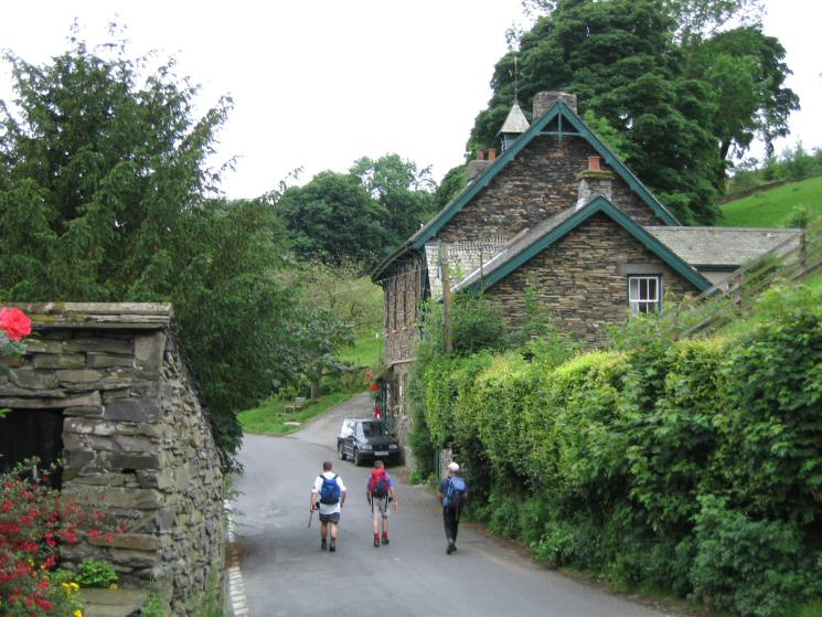Passing Troutbeck Post Office (closed so no refreshments for us!)