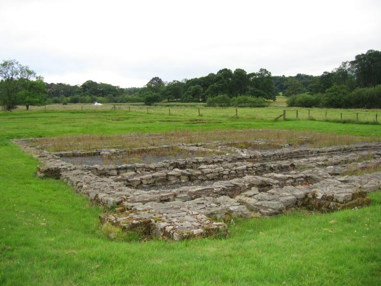The Double-Granaries or Horreae, GALAVA Roman Fort