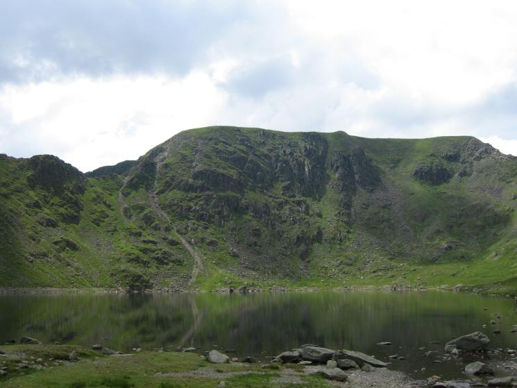 Helvellyn from Red Tarn