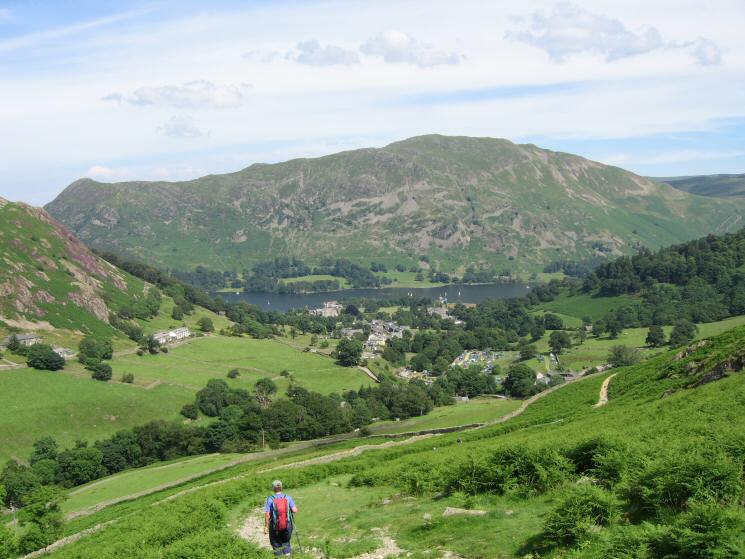 Heading back down on Glenridding for an ice cream