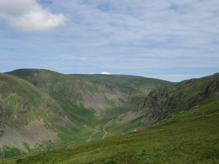 Kentmere Pike, Harter Fell and Buckbarrow Crag from Great Howe