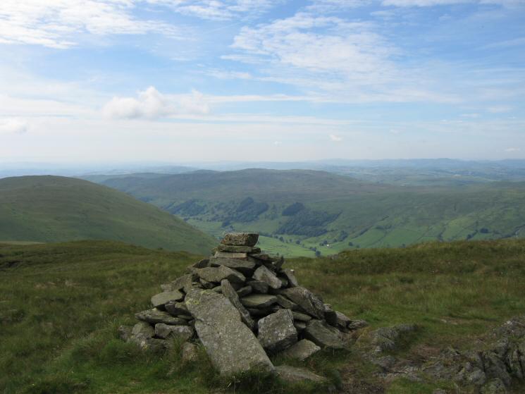 Grey Crag's summit cairn