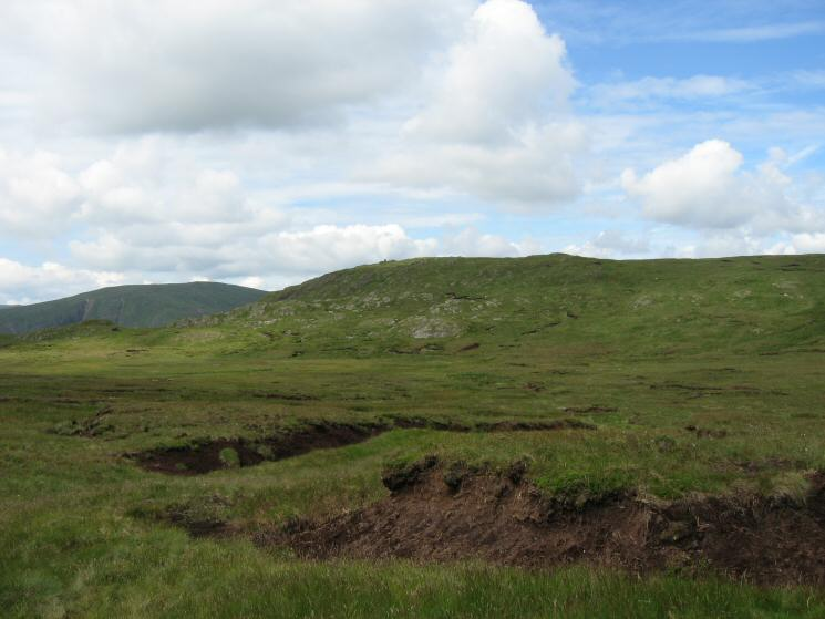 Tarn Crag seen across Greycrag Tarn (just a bog!)
