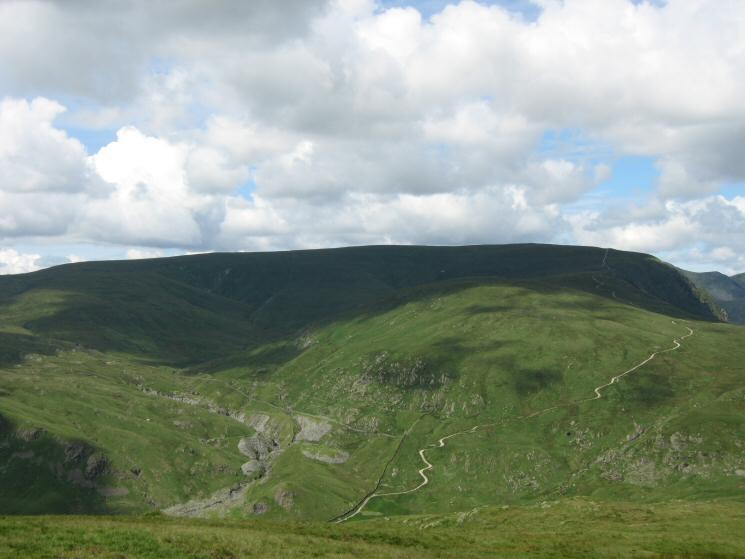 Looking across Longsleddale to Harter Fell