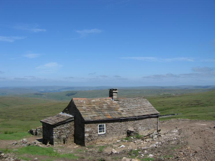 Greg's Hut, now a bothy