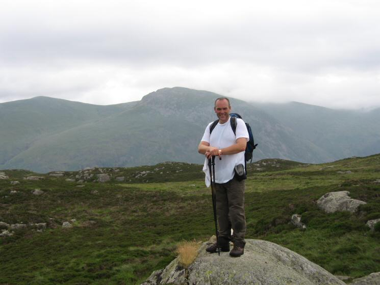 David Hall completes his round of the Wainwright tops with a camera on Armboth Fell