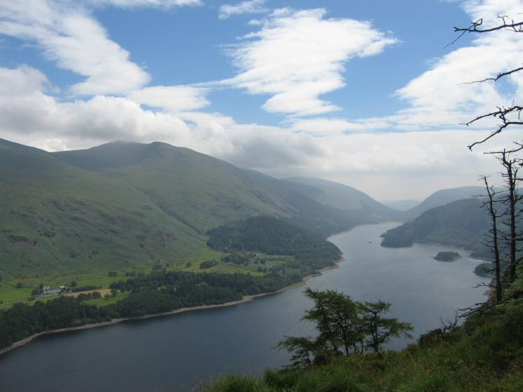 Helvellyn and Thirlmere from Raven Crag
