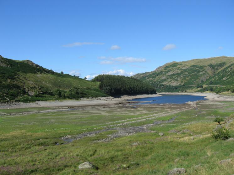 Mardale Head with a low Haweswater