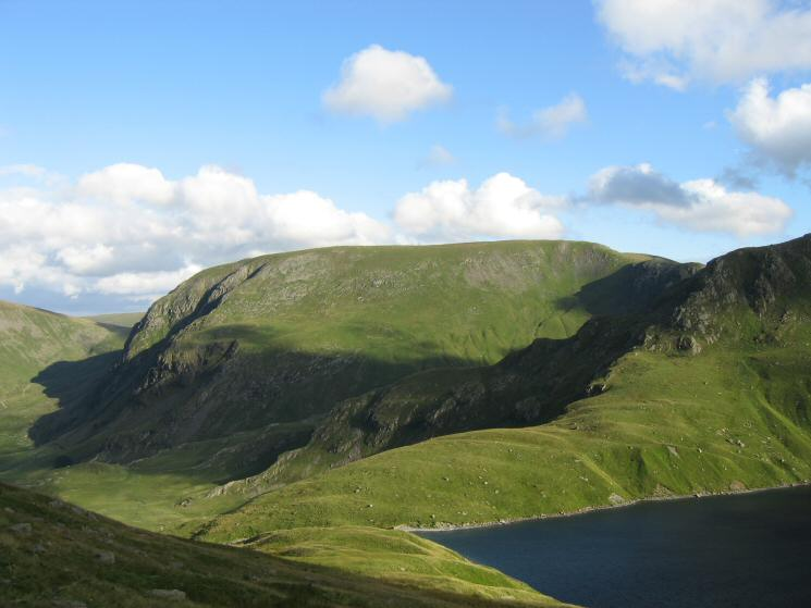 Harter Fell from the descent to Blea Water