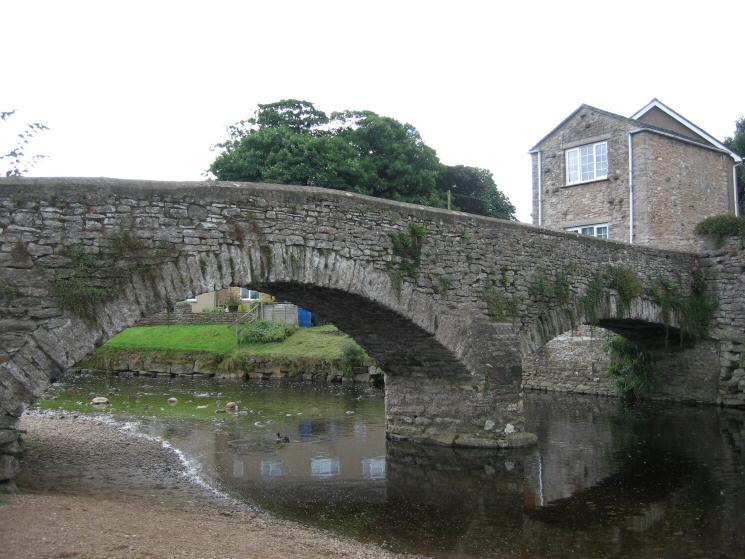 Frank's Bridge across the River Eden at Kirkby Stephen