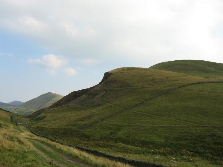 Left to right: Murton Pike, Dufton Pike and Knock Pike