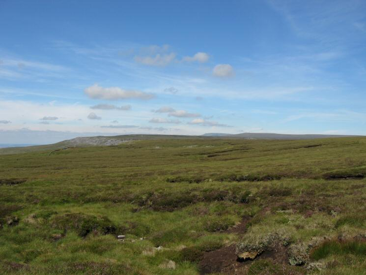 Looking north as we cross the moorland on our way to Murton Fell