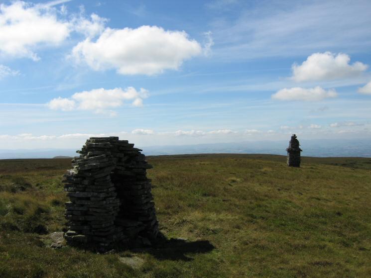 The Curricks on Murton Fell's north top
