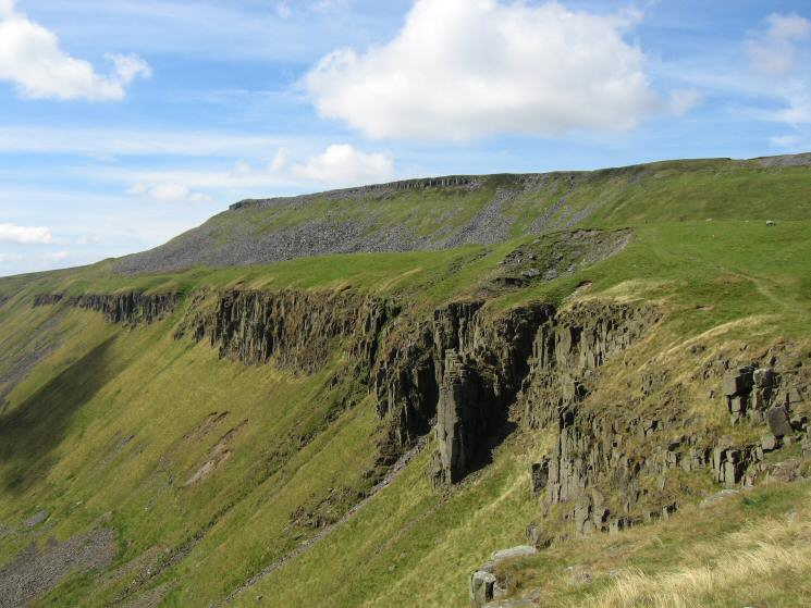 The northern cliffs of High Cup