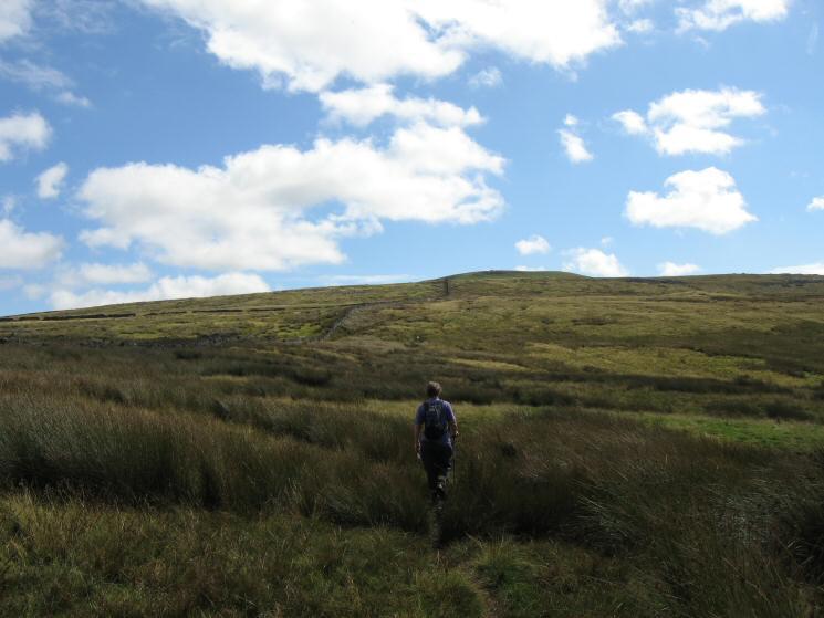 Heading towards Tailbridge Hill