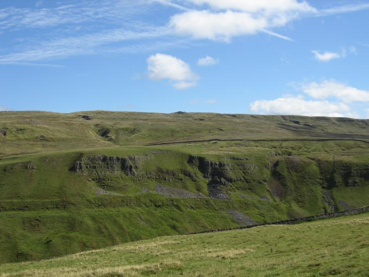 Looking across High Dukerdale to Nine Standards Rigg