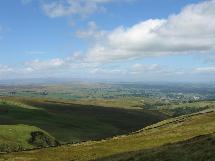 Looking north west into the Eden Valley