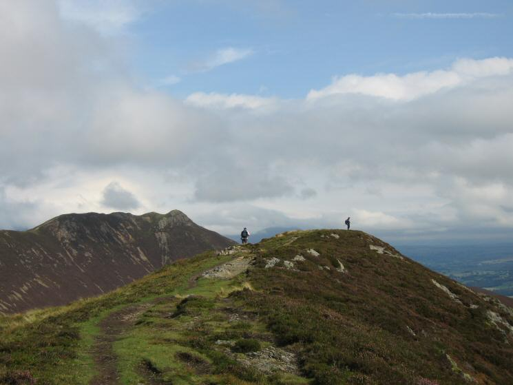 Ard Crags' summit with Causey Pike behind