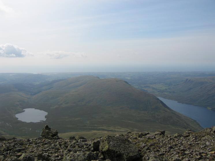 Burnmoor Tarn, Illgill Head and Wastwater
