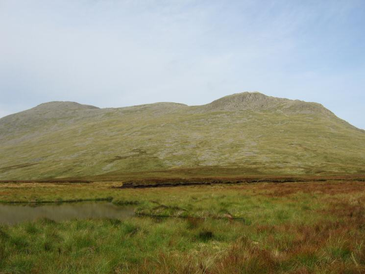 Scafell and Slight Side from Quagrigg Moss