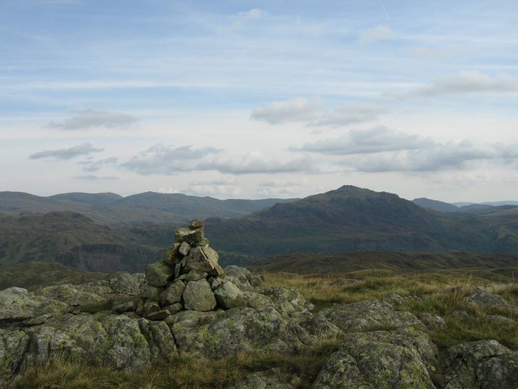 Harter Fell from Great How's summit