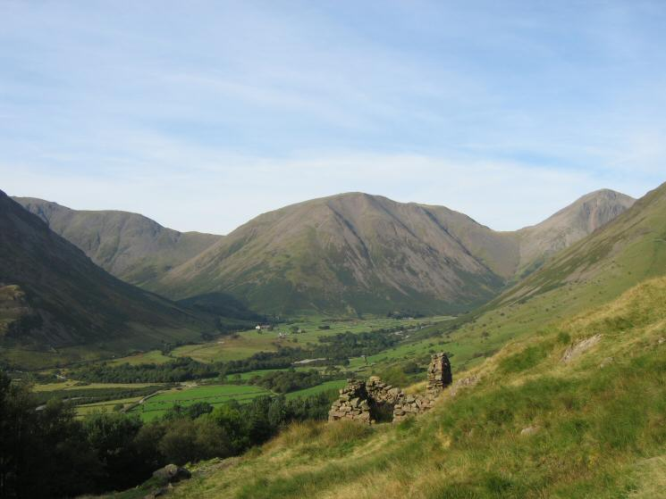 Wasdale Head from the old corpse road