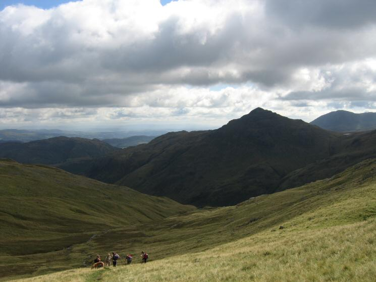 Pike o' Blisco from Buscoe