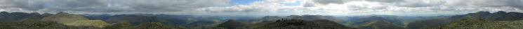 360 Panorama from Long Top (Crinkle Crags) summit