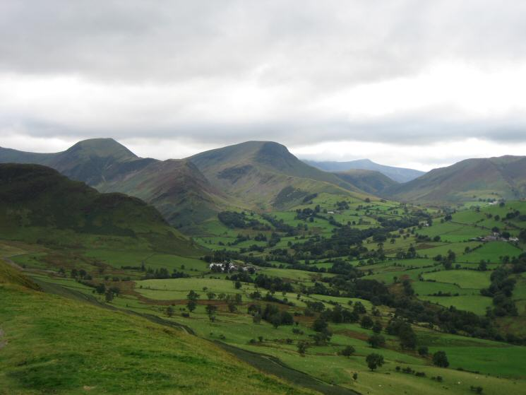 Hindscarth, Robinson and the Newlands Valley