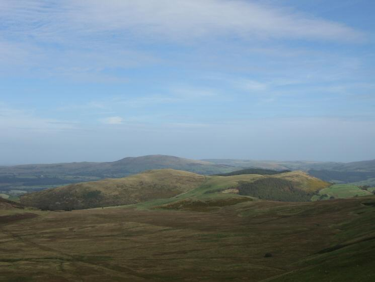 Looking over Wythop Moss to Sale Fell with Binsey beyond