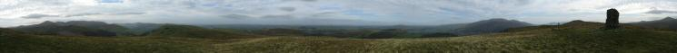 360 Panorama from Broom Fell's summit