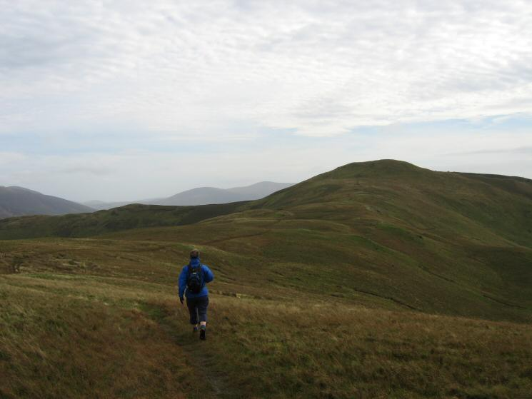 Heading for Lord's Seat