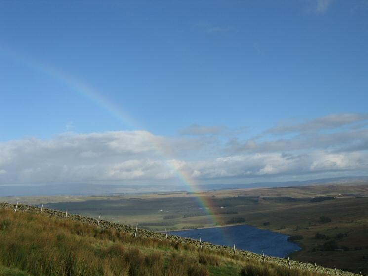 Rainbow over Wet Sleddale Reservoir