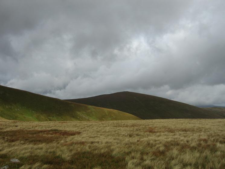 Looking north to Great Dodd