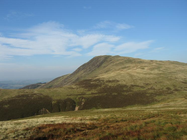 Looking back over Fothergill Head to Blake Fell from our route up Gavel Fell