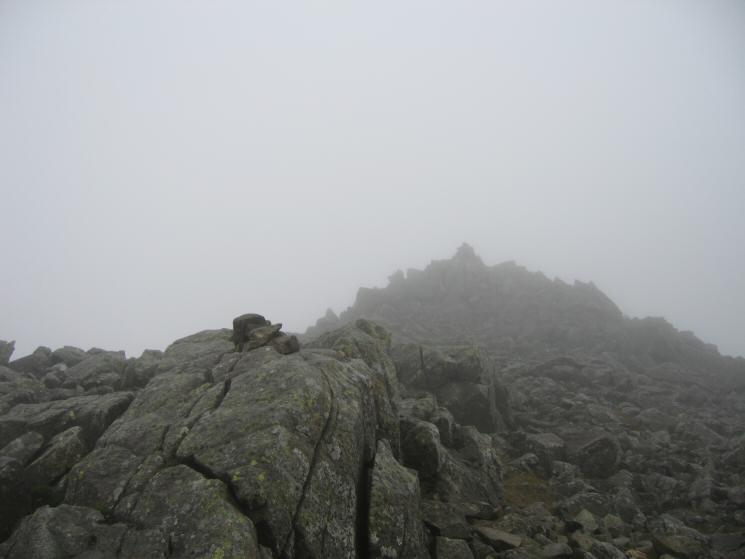 Ill Crag's summit