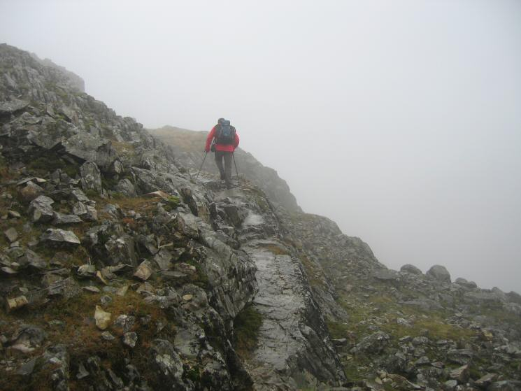 Ascending Esk Pike
