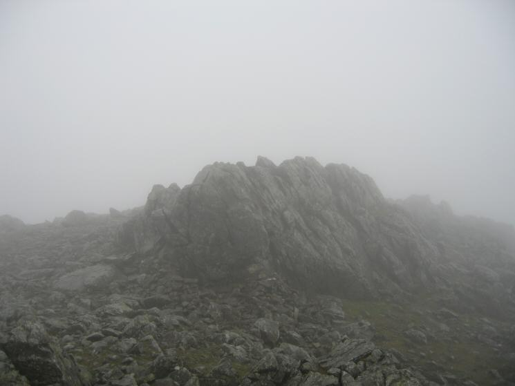 Esk Pike's summit
