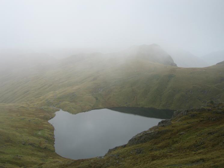 ..and again with Rosset Pike just visible in the cloud