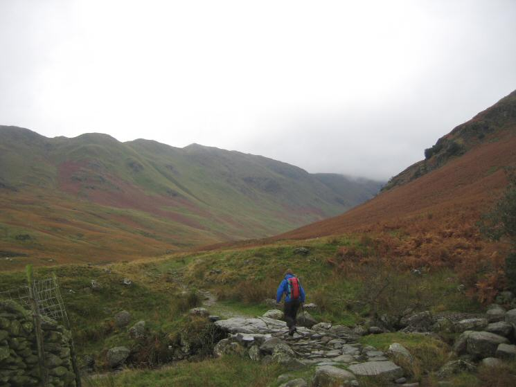 Heading up into Deepdale