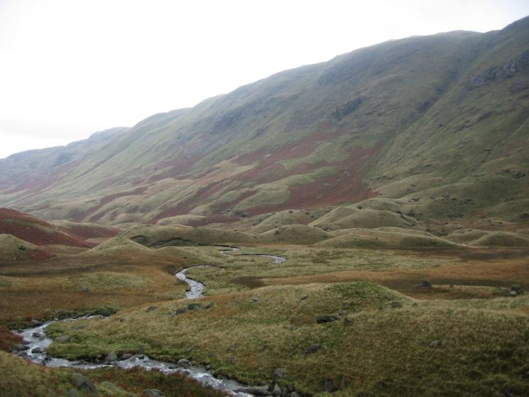 Looking back across Mossydale to the Hartsop Above How ridge