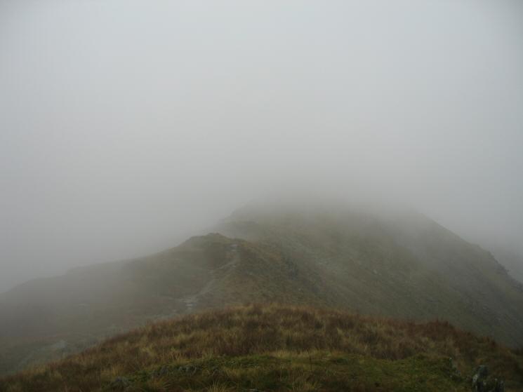 The ridge to Saint Sunday Crag