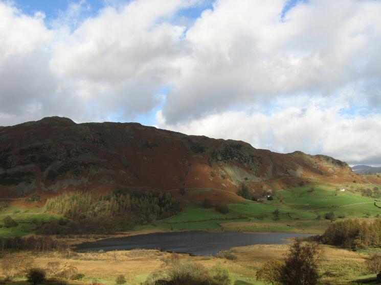 Lingmoor Fell and Little Langdale Tarn